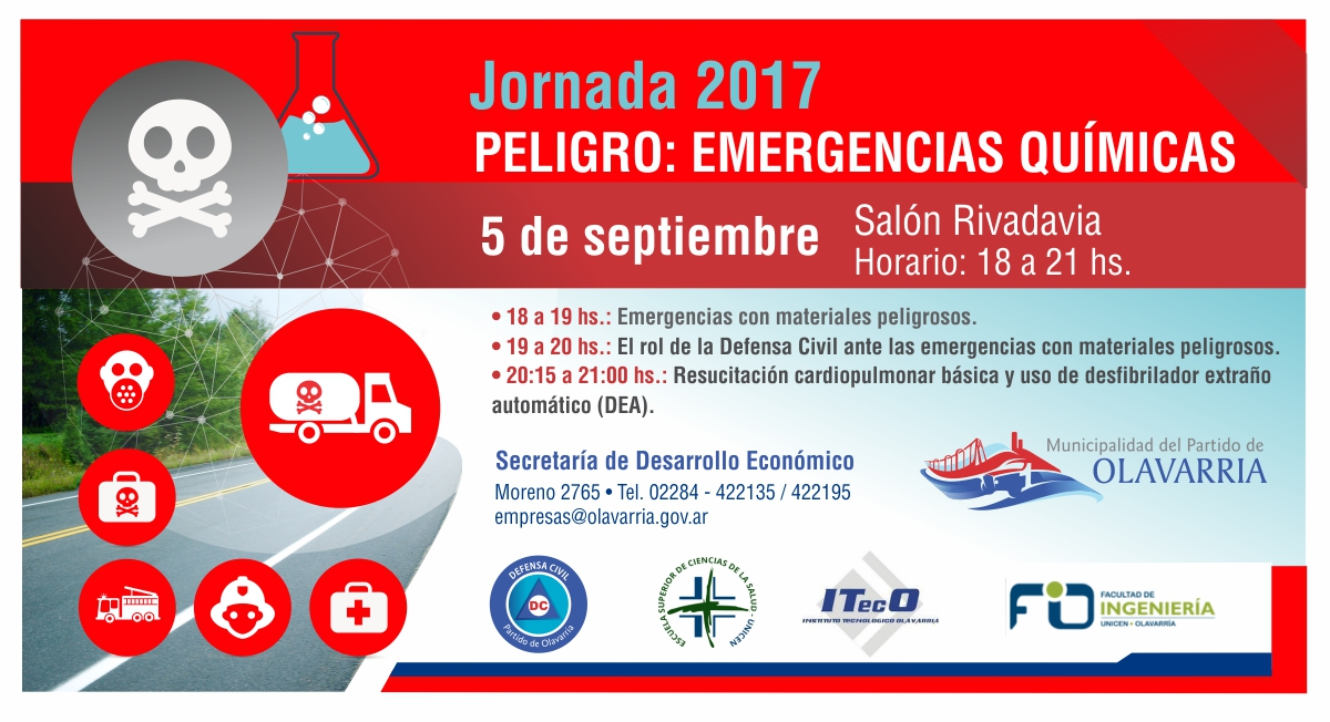 flyer emergencias quimicas